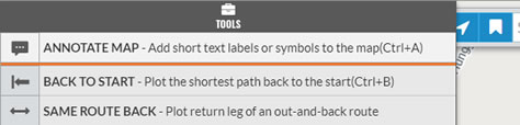 Annotate Map button
