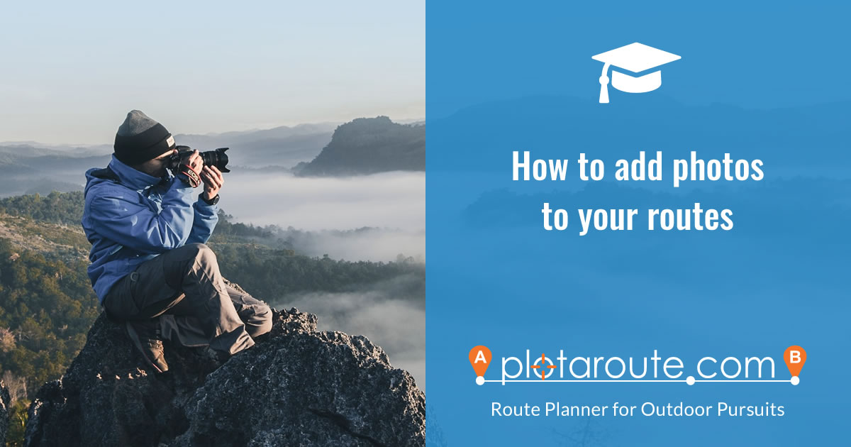 How to add photos to your routes