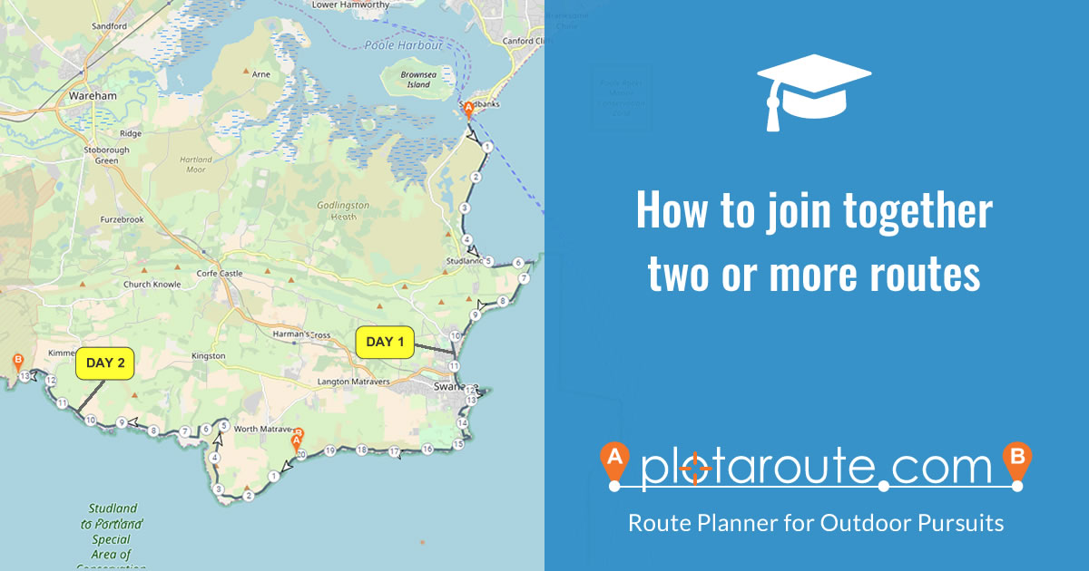 How to join together two or more routes