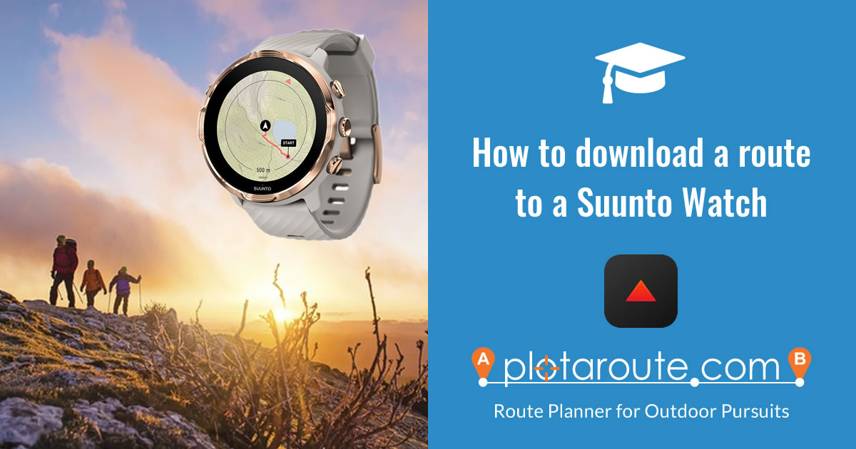 How to transfer routes to Suunto devices
