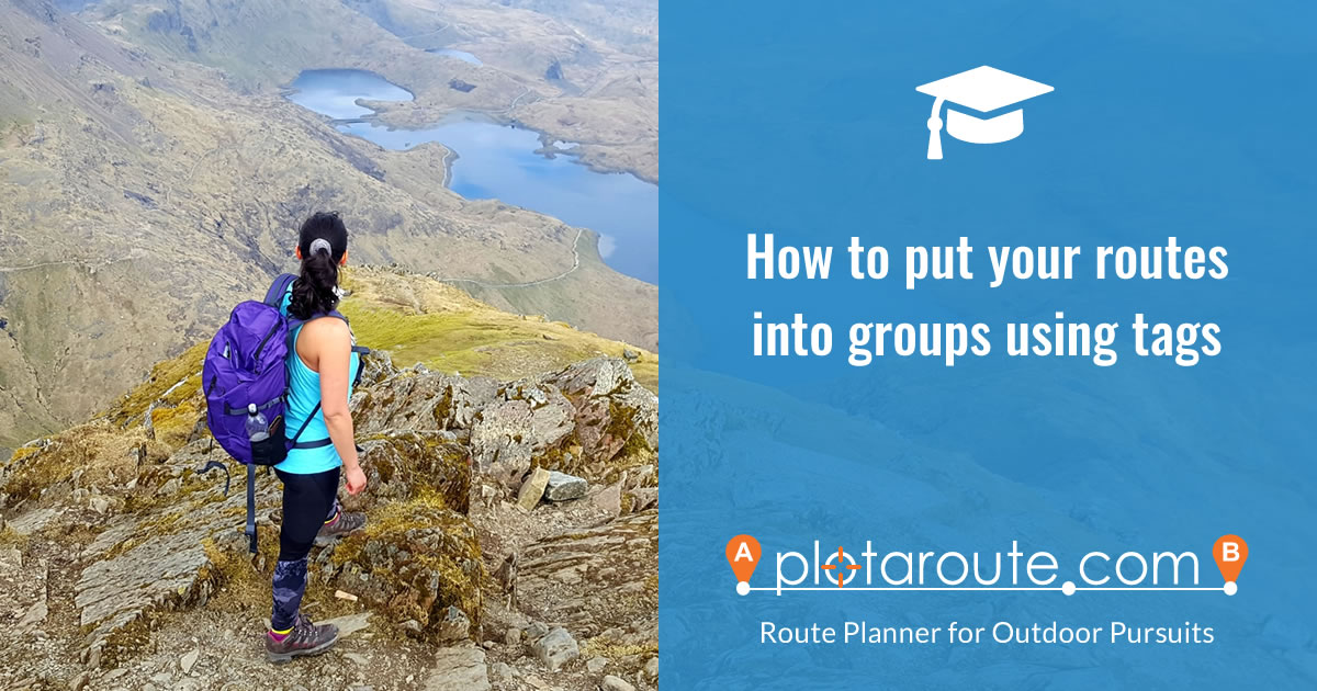 How to put your routes into groups using tags