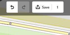 Save edits button