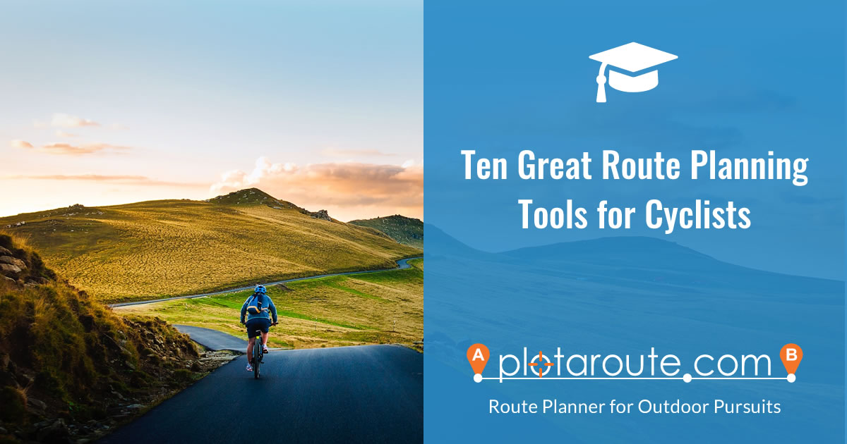 Ten Great Route Planning Tools for Cyclists